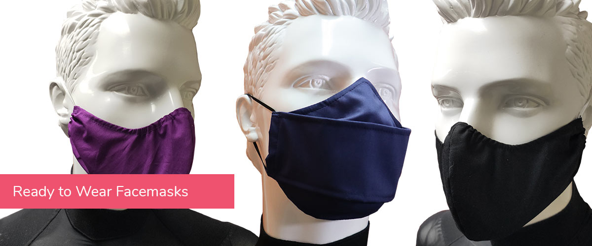 Learn more about our ready to wear facemasks